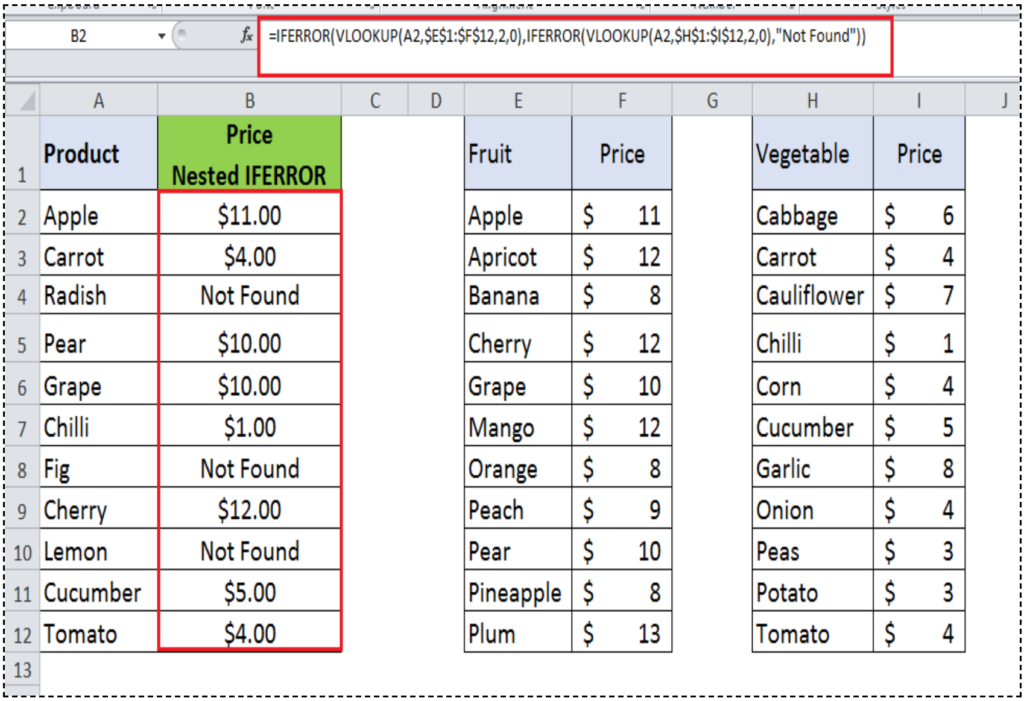 Learn How to Use IFERROR Function in Excel - Excelchat