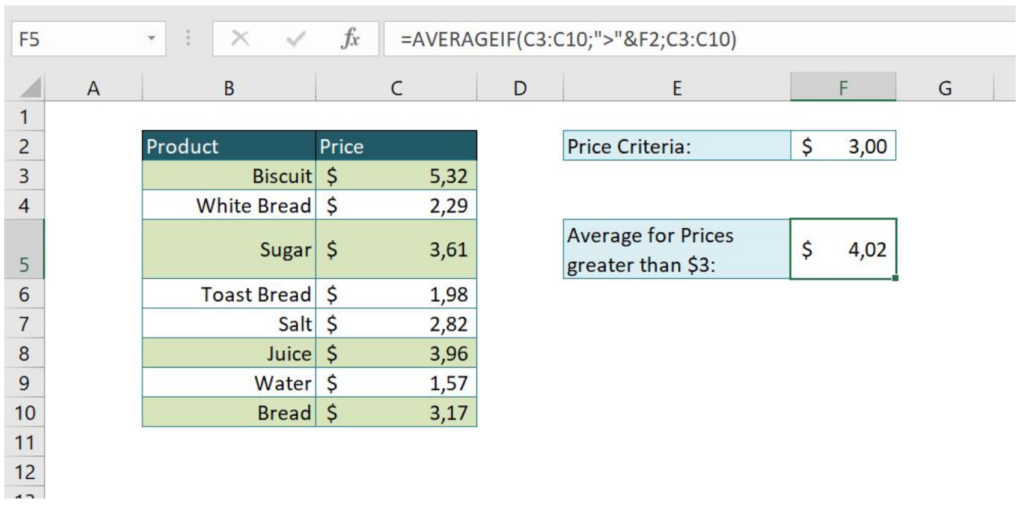 How to Average in Excel - Excelchat - Excelchat