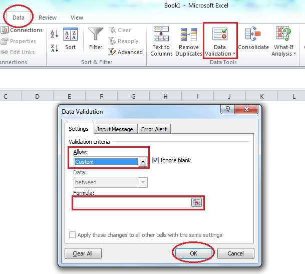 How to Perform Excel Data Validation Using the WEEKDAY Function