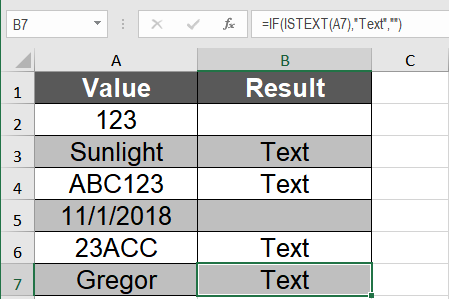How to Perform Data Validation in Excel with the ISTEXT Function