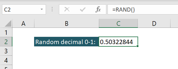 How to Get Random Times at Specific Intervals in Excel