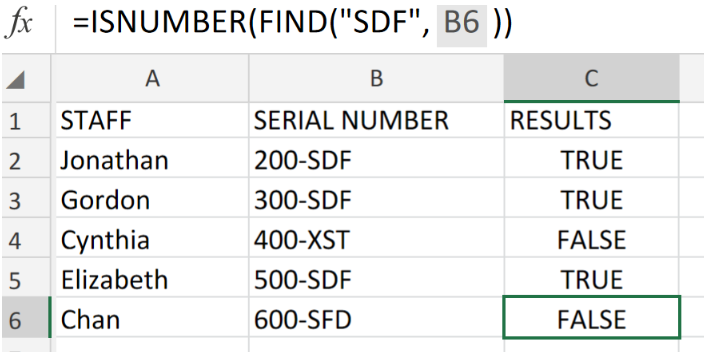 Excel DATA VALIDATION Using the ISNUMBER and FIND Function