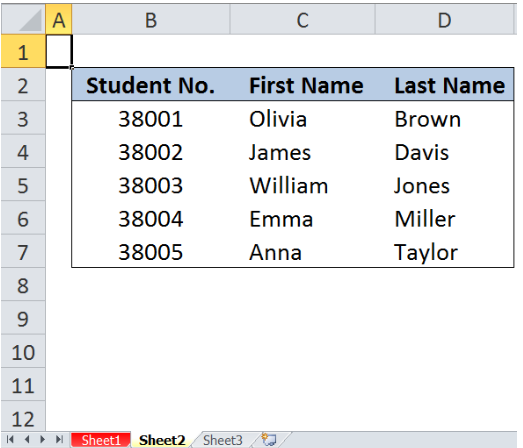 Excel formula: VLOOKUP from Another Sheet - Excelchat