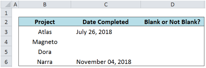 Excel formula: If cell is not blank - Excelcht