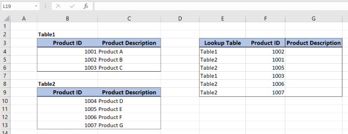 Dynamic Lookup Table with INDIRECT   Excelchat