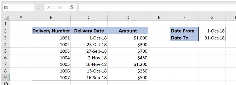 How to Highlight Rows with Dates Between in Excel | Excelchat