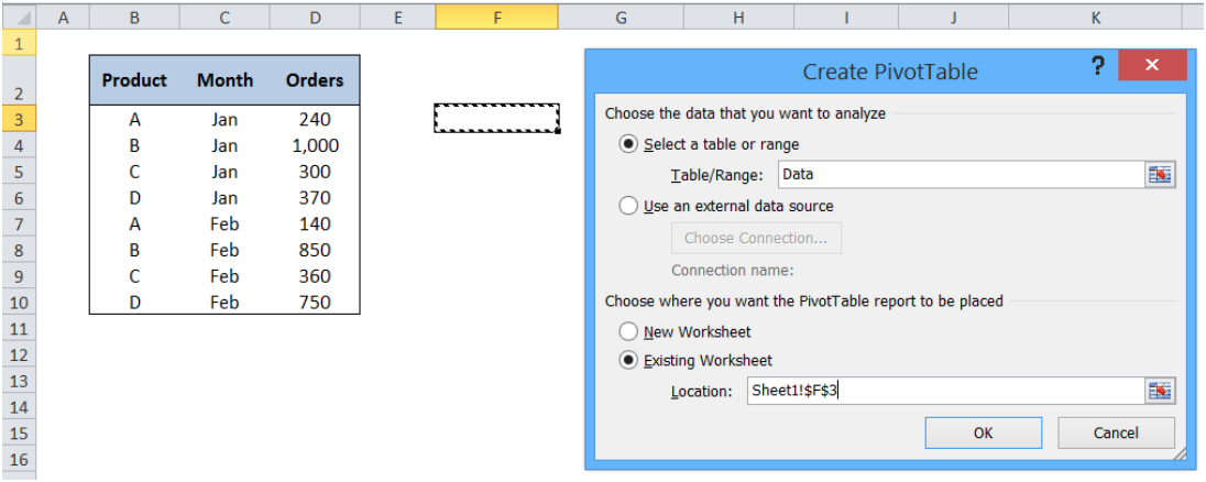 Here is Why Your Next Pivot Table Should Have a Dynamic Range
