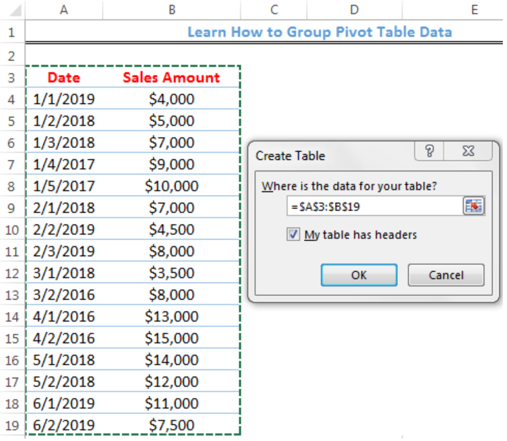 How to Group Pivot Table Data in Excel | Excelchat