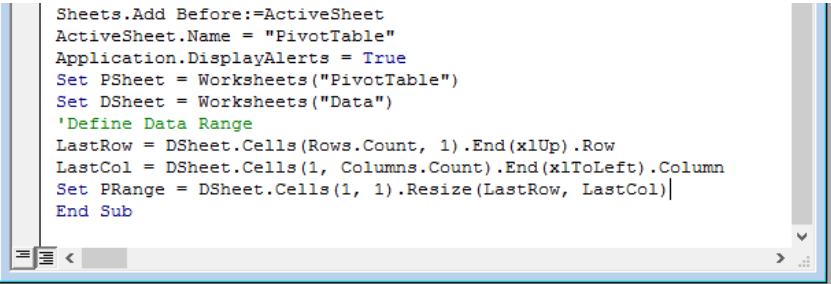 How To Create A Pivot Table With Vba In Excel Excelchat