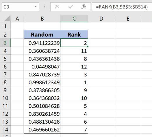 Find Out How to Generate Unique Random Numbers in Excel | Excelchat