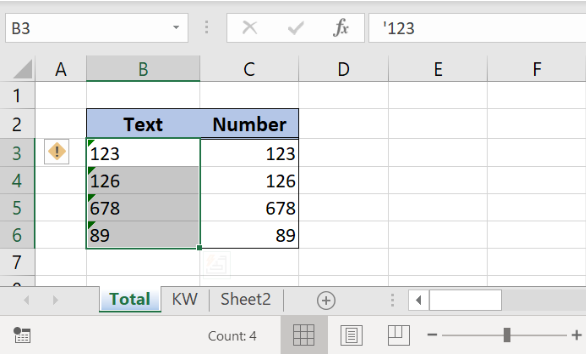 How to Convert Text to Number in Excel | Excelchat