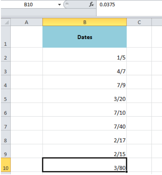 How to Stop Excel From Changing Numbers to Dates   Excelchat