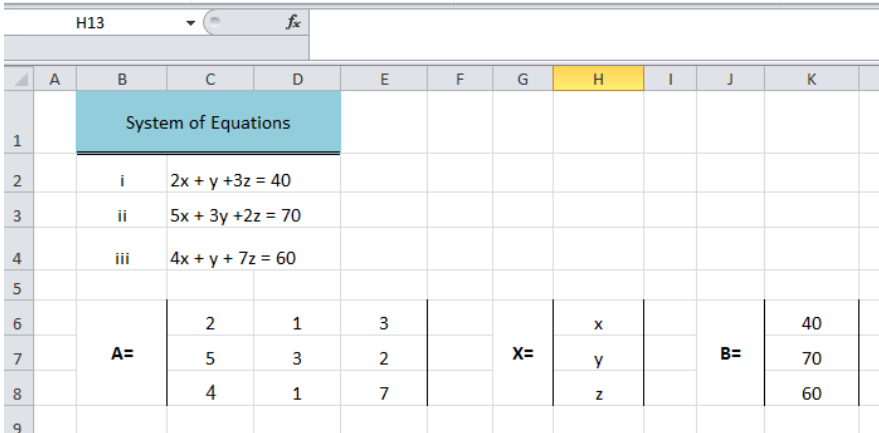 How to write equations in excel type my finance homework