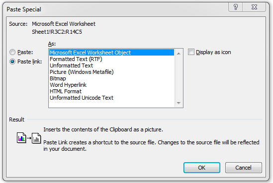 How to Insert Excel File into Word Like Spreadsheets, Files, and