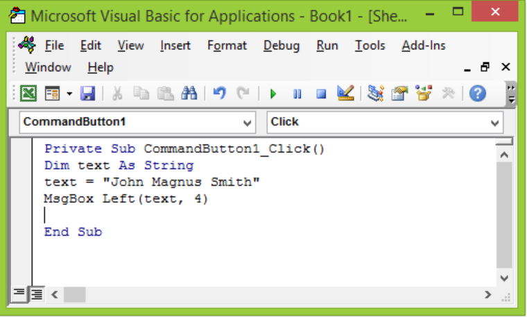 How to Use Excel VBA String Functions - Excelchat   Excelchat
