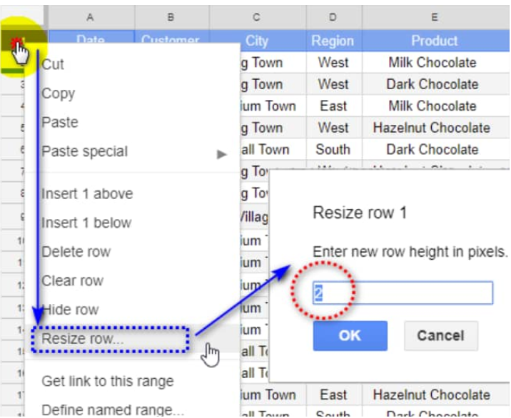 How to move rows and columns in Google sheets - Excelchat | Excelchat