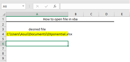 How to open file in VBA - Excelchat | Excelchat