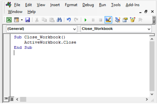 Excel VBA to Close Workbook - Excelchat | Excelchat