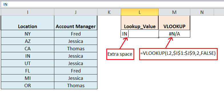 Top Reasons Why Your Vlookup Is Not Working And How To Correct Them Excelchat