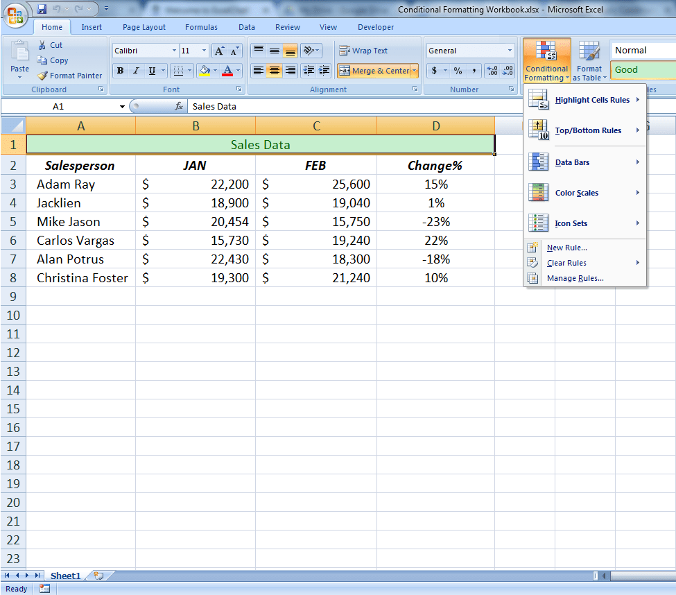 Discover How to Use Conditional Formatting in Excel